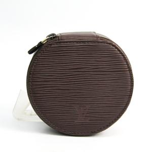Louis Vuitton Epi Ecrin Bijoux 10 M4821D Jewelry Case Moka Epi Leather