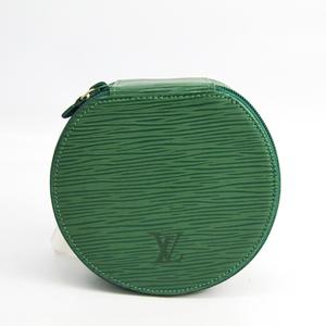 Louis Vuitton Epi Jewelry Case 12 M48204 Jewelry Case Borneo Green Epi Leather