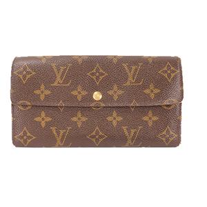 ルイヴィトン 長財布(二つ折り) モノグラム ポルトフォイユサラ M61734  ブラウン