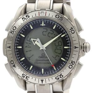 【OMEGA】オメガ スピードマスター X-33 後期型 アナログ デジタル チタン クォーツ メンズ 時計 3291.50