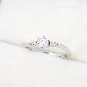 リング 指輪 ダイヤモンド 0.209ct・0.04ct ダイヤ Pt900 プラチナ  10.5号