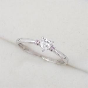 リング 指輪 Pt900 プラチナ ダイヤモンド 0.24ct ダイヤ 12号