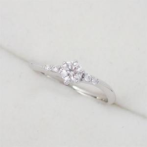 リング 指輪 Pt900 プラチナ ダイヤモンド 0.24ct  ダイヤ 10.5号