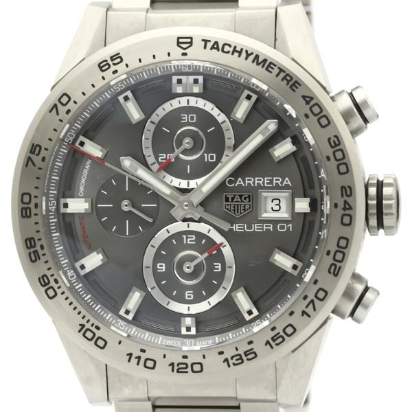 Tag Heuer Carrera Automatic Titanium Men's Sports Watch CAR208Z