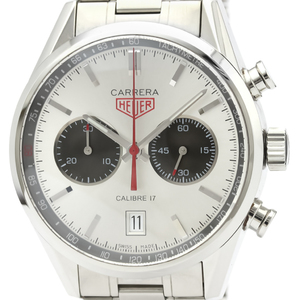 Tag Heuer Carrera Automatic Stainless Steel Men's Sports Watch CV2119