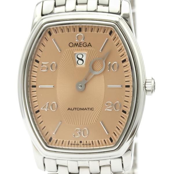 OMEGA De Ville Prestige Jumping Hour Automatic Mens Watch 4853.61