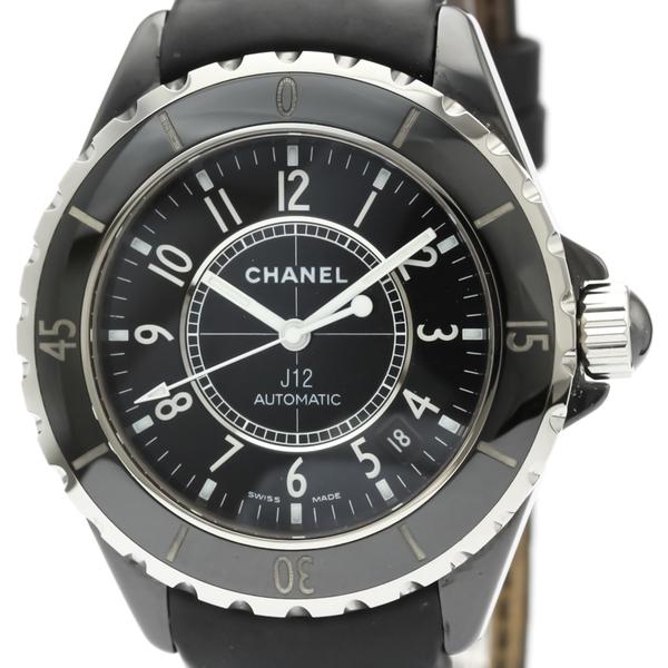 Chanel J12 Automatic Ceramic Men's Dress Watch H0683