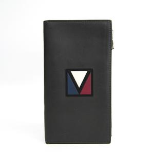 ルイ・ヴィトン(Louis Vuitton) M61259 メンズ  カーフレザー 長札入れ(二つ折り) グレー