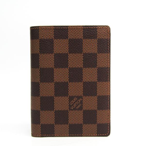 ルイ・ヴィトン(Louis Vuitton) ダミエ ポルトフォイユ・ジェイムス N63023 メンズ ダミエキャンバス 札入れ(二つ折り) エベヌ
