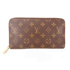 Auth Louis Vuitton Monogram M62581 Men,Women,Unisex Monogram Long Wallet