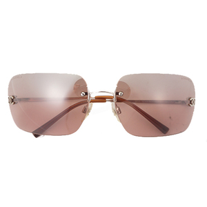 Auth Chanel Sunglasses Brown