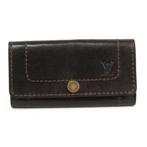 Louis Vuitton Utah Mutticle 6 M95539 Men's Leather Key Case Coffee