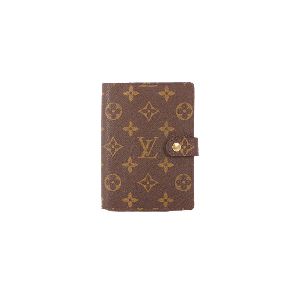 Auth Louis Vuitton Monogram Planner Cover Monogram R20005