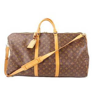 Louis Vuitton Monogram Keepall Bandouliere 60 M41412 Men,Women,Unisex Boston Bag Brown