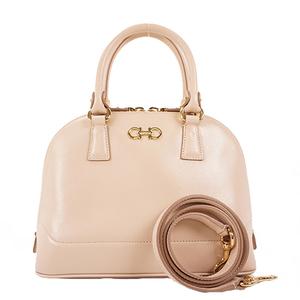 Salvatore Ferragamo Gancini 2way Bag Women's Leather Handbag