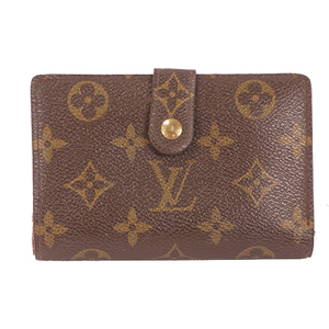 Louis Vuitton Monogram M61663 Women's Monogram Wallet (bi-fold) Brown