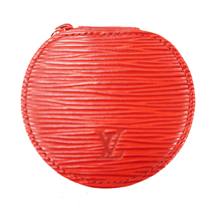 Louis Vuitton Epi Ecrin Bijoux M48227 Jewelry Case Castilian Red Epi Leather