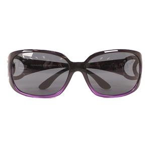 Auth Chanel Women's Sunglasses Purple Sunglass