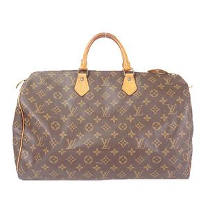 Louis Vuitton Monogram Speedy 40 M41106 Women's Boston Bag,Handbag Brown