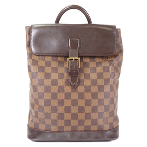Auth Louis Vuitton Damier Soho N51132