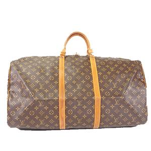 Auth Louis Vuitton Boston Bag  Monogram M41422 Men,Women,Unisex Brown