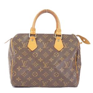 Auth Louis Vuitton Monogram Speedy 25 M41528 Women's Boston Bag,Handbag
