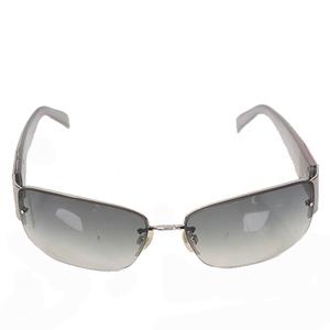 Auth Chanel Women's Sunglasses Silver sunglasses