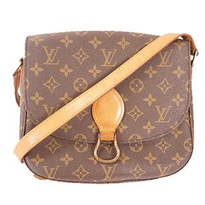 Auth Louis Vuitton Monogram M51242 Women's Shoulder Bag Brown