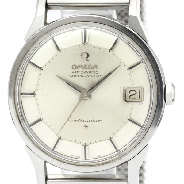 Omega Constellation Automatic Stainless Steel Men's Dress Watch 14902