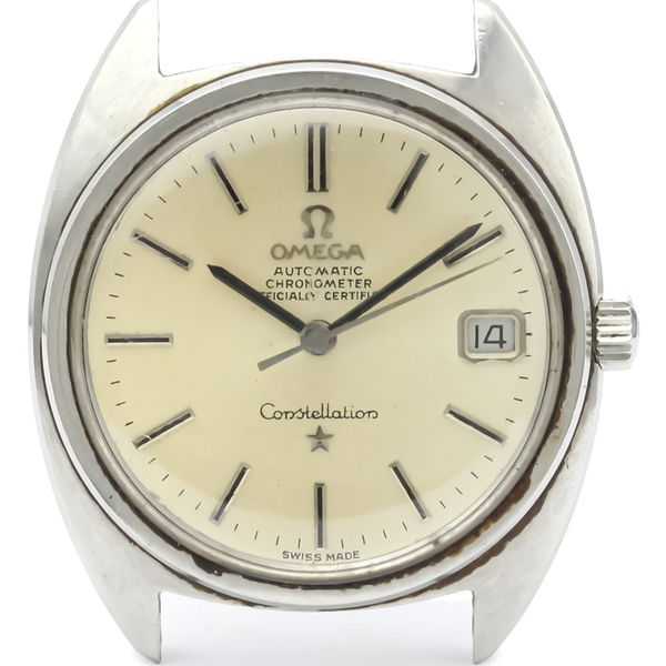 OMEGA Constellation Steel Automatic Mens Watch 168.017