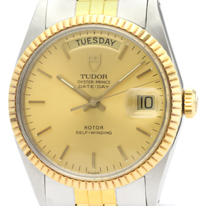Tudor Oyster Prince Date Automatic Stainless Steel,Yellow Gold (18K) Men's Dress Watch 94613