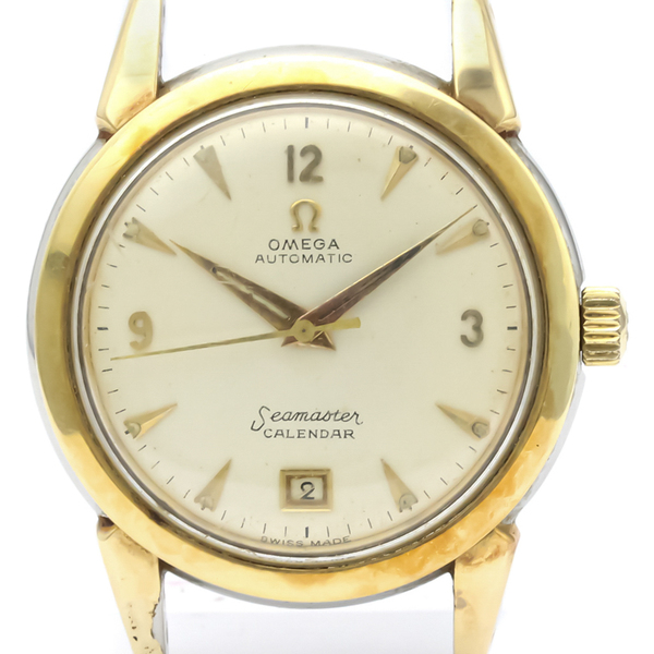 Omega Seamaster Automatic Gold Plated Men's Dress Watch 2627