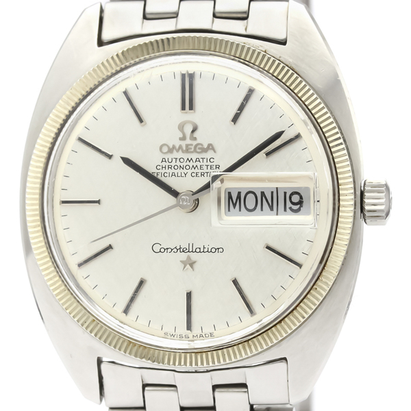 Omega Constellation Automatic Stainless Steel Men's Dress Watch 168.029