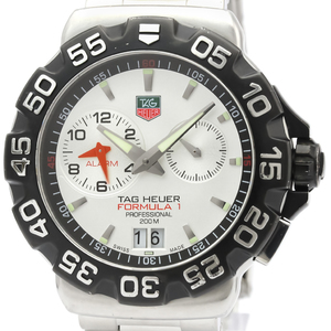 Tag Heuer Formula 1 Quartz Stainless Steel Men's Sports Watch WAH111B