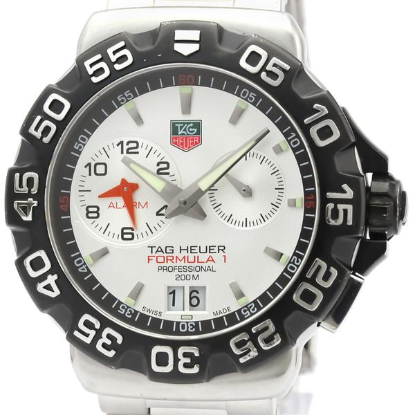 Tag Heuer Formula 1 Quartz Stainless Steel Men's Sports Watch WAH111B
