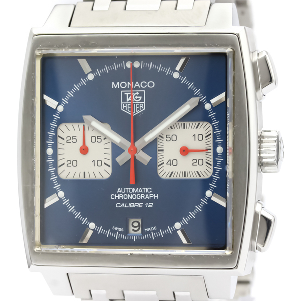 Tag Heuer Monaco Automatic Stainless Steel Men's Sports Watch CAW2111