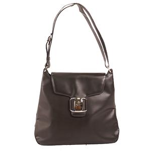 Salvatore Ferragamo Shoulder Bag Women's Handbag,Shoulder Bag Black