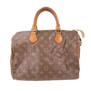 Auth Louis Vuitton Monogram Speedy30 M41526 Women's Boston Bag,Handbag