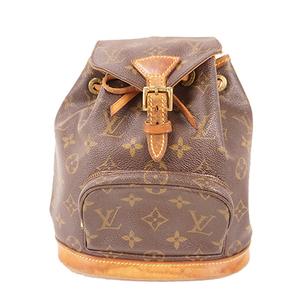 Auth Louis Vuitton Monogram Mini Montsouris M51137 Women's Backpack