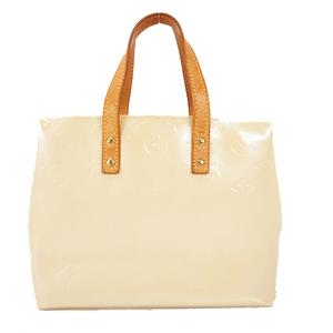 Auth Louis Vuitton Monogram Vernis Lead PM M91336 Women's Handbag,Tote