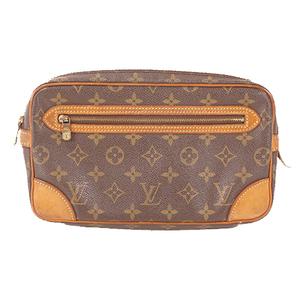 Auth Louis Vuitton Monogram Marly Dragonne GM M51825 Men,Unisex,Women Clutch Bag