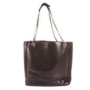 Auth Chanel Matelasse  Chain Tote Bag Women's Leather Shoulder