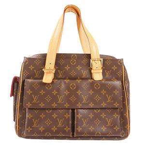 Auth Louis Vuitton Shoulder Bag Monogram Viva Cite GM M51163