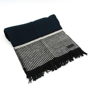 エルメス(Hermes) マフラー ユニセックス カシミア スカーフ ブラック,ネイビー,ホワイト