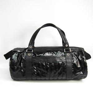 グッチ(Gucci) 194452 ユニセックス レザー ボストンバッグ ブラック