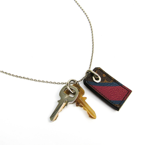 Louis Vuitton My Key Pendant MP1584 Monogram Unisex Pendant Necklace