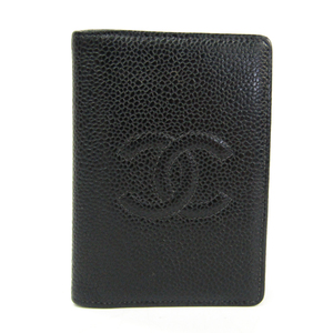 シャネル(Chanel) A13503 キャビアスキン 名刺入れ ブラック