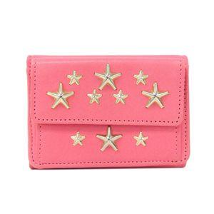 Jimmy Choo Nemo Women's Wallet (tri-fold) Gold,Pink