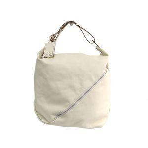 Salvatore Ferragamo 24-9647 Women's Shoulder Bag White