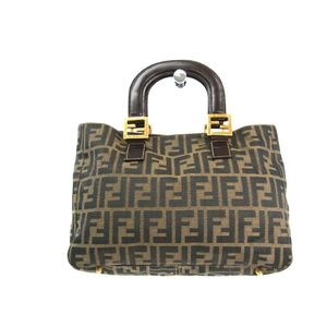 Fendi 26329 Women's Handbag Brown
